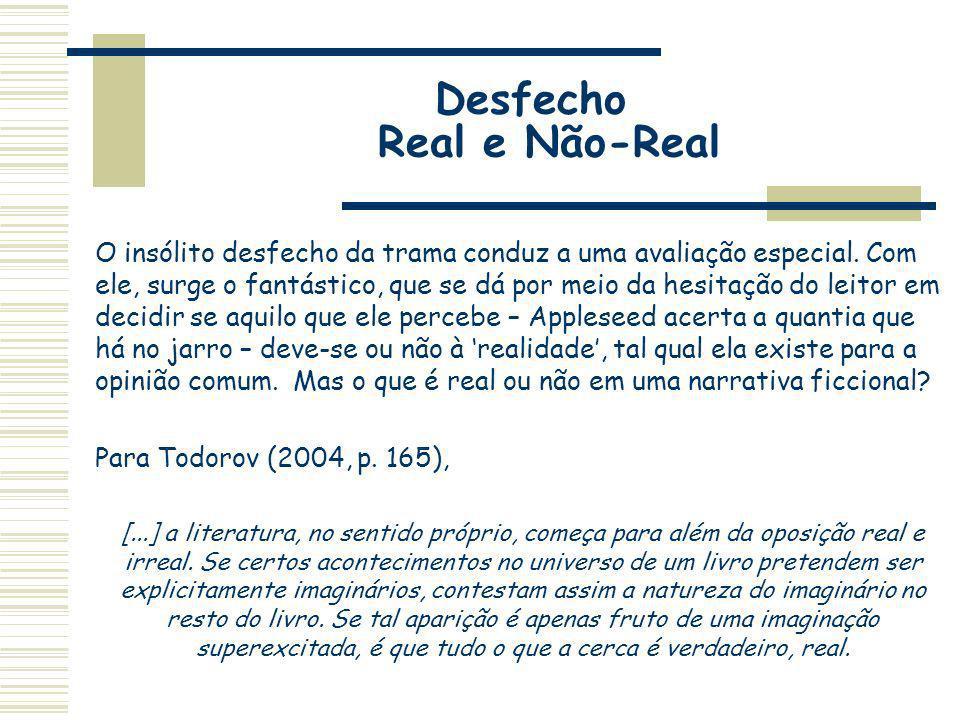 Desfecho Real e Não-Real