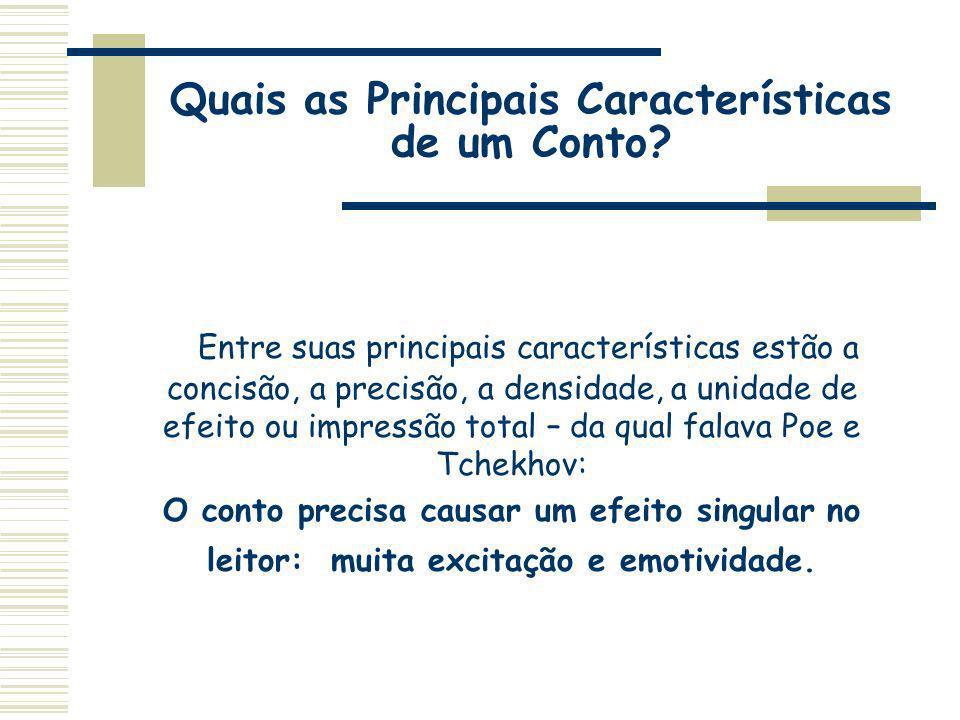Quais as Principais Características de um Conto