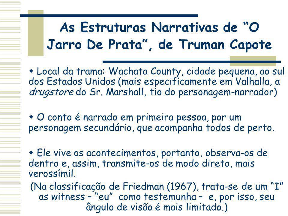 As Estruturas Narrativas de O Jarro De Prata , de Truman Capote