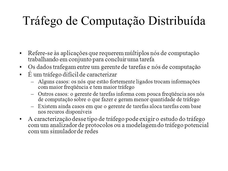 Tráfego de Computação Distribuída