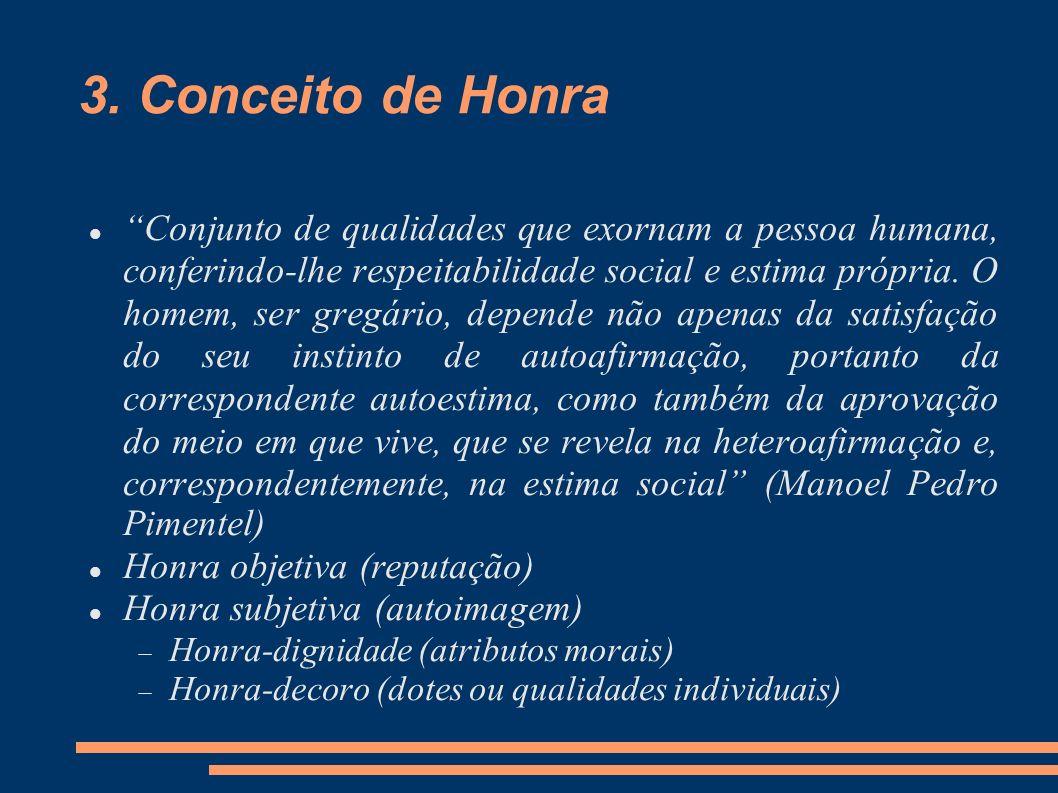 3. Conceito de Honra