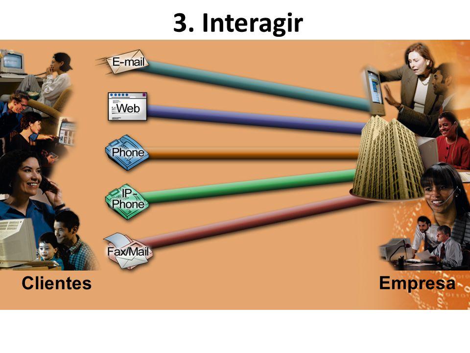 3. Interagir Clientes Empresa