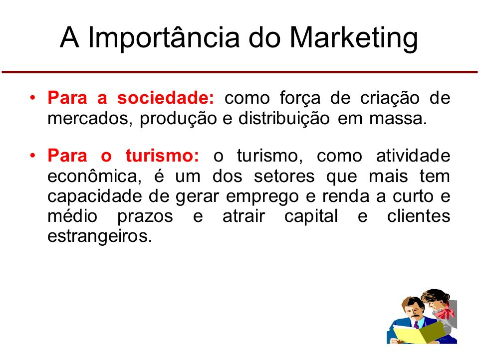A Importância do Marketing