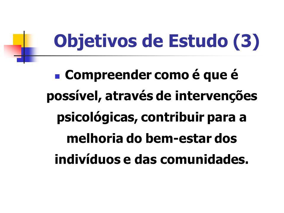 Objetivos de Estudo (3)