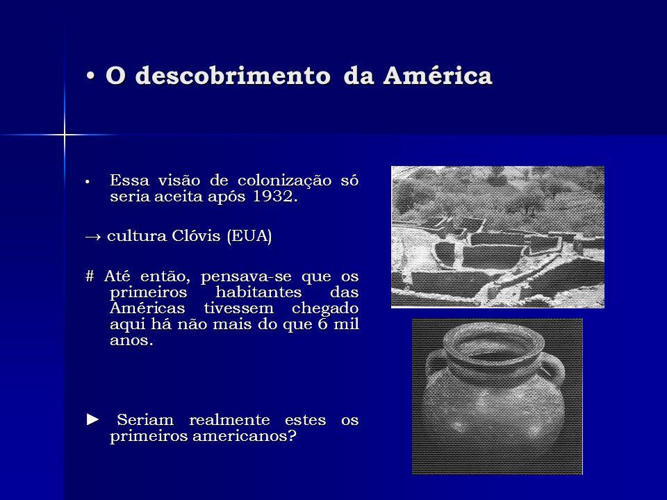 O descobrimento da América