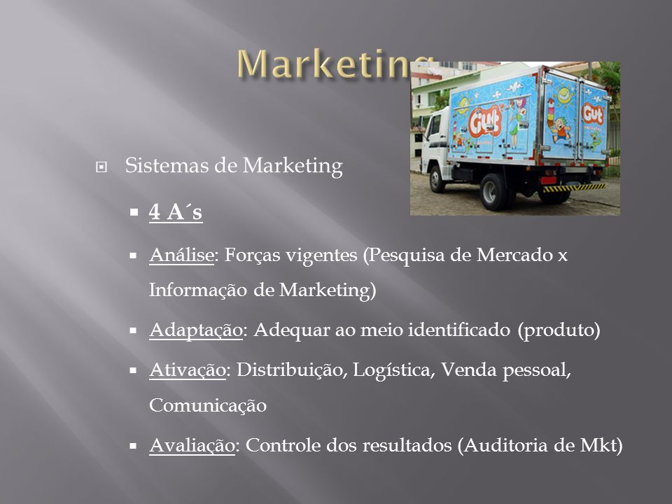 Marketing 4 A´s Sistemas de Marketing