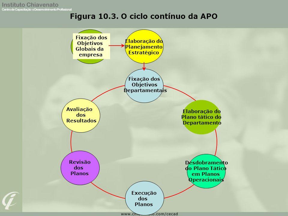 Figura 10.3. O ciclo contínuo da APO