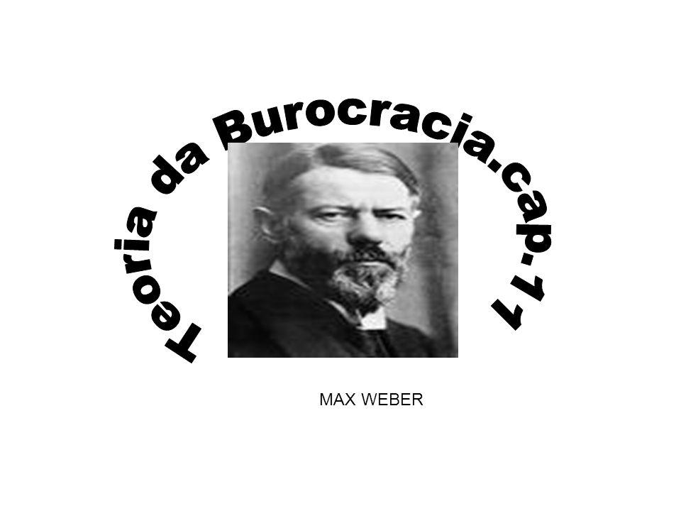 Teoria da Burocracia.cap.11