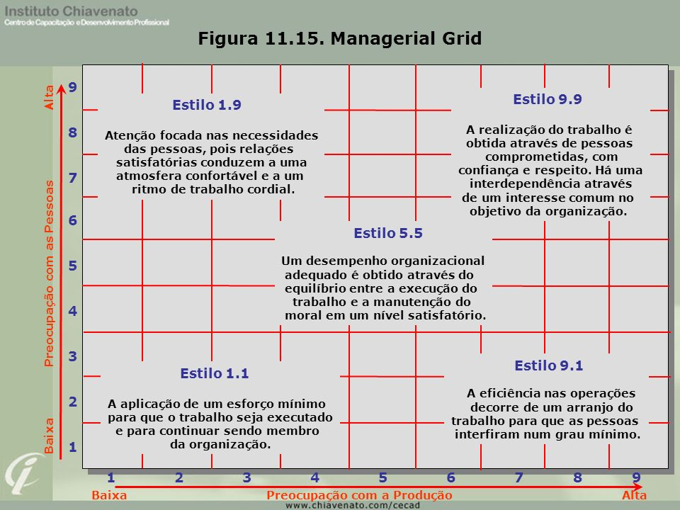 Figura 11.15. Managerial Grid
