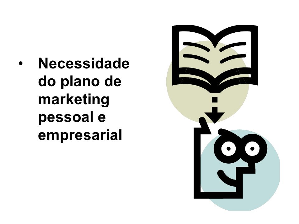 Necessidade do plano de marketing pessoal e empresarial