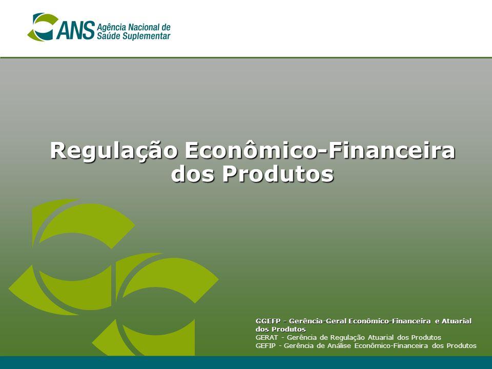 Regulação Econômico-Financeira dos Produtos