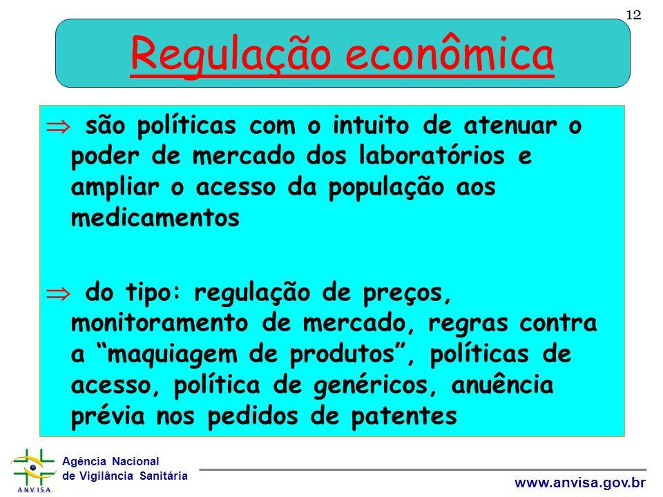 12 Regulação econômica.