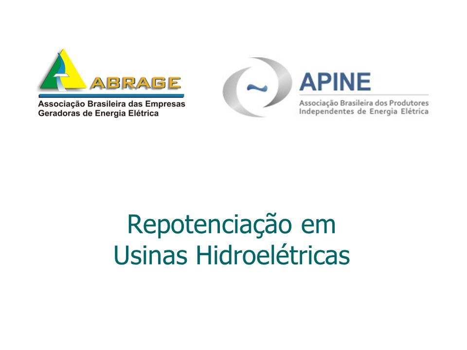 Repotenciação em Usinas Hidroelétricas
