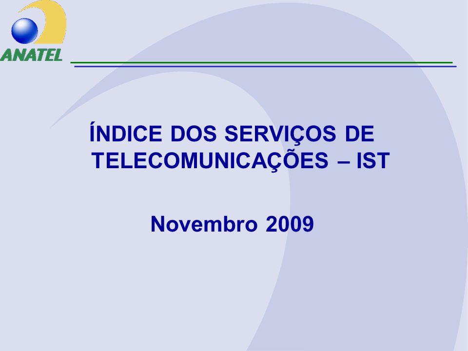ÍNDICE DOS SERVIÇOS DE TELECOMUNICAÇÕES – IST