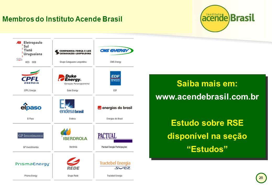 Membros do Instituto Acende Brasil