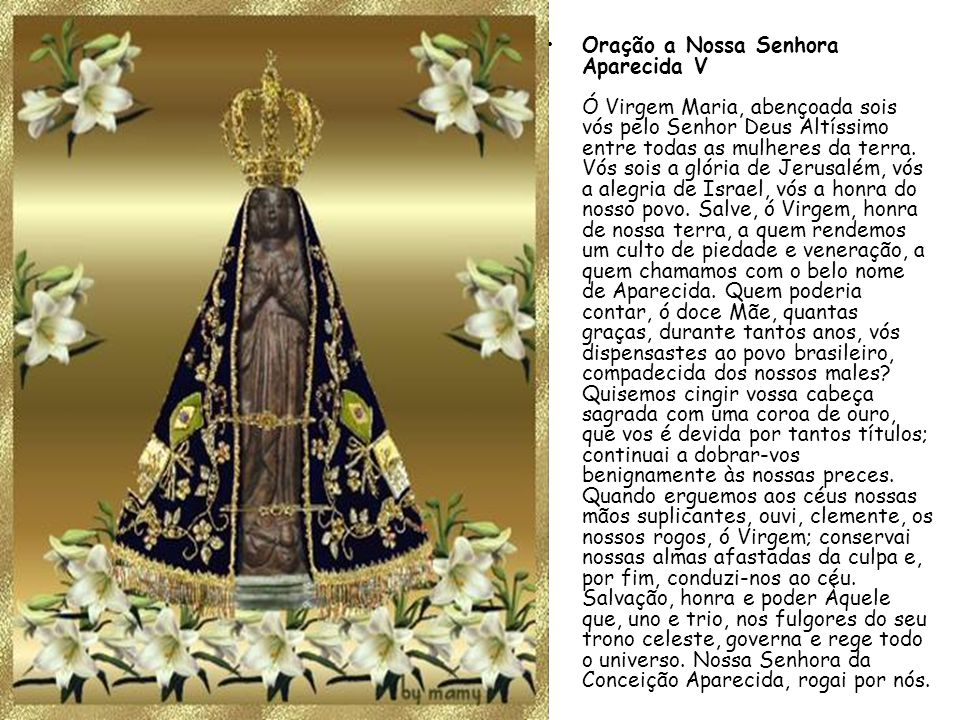 Oração Da Noite Nossa Senhora Aparecida Rogai Por Nós: NOSSA SENHORA APARECIDA É SOLIDÁRIA COM OS NEGROS: A Cor