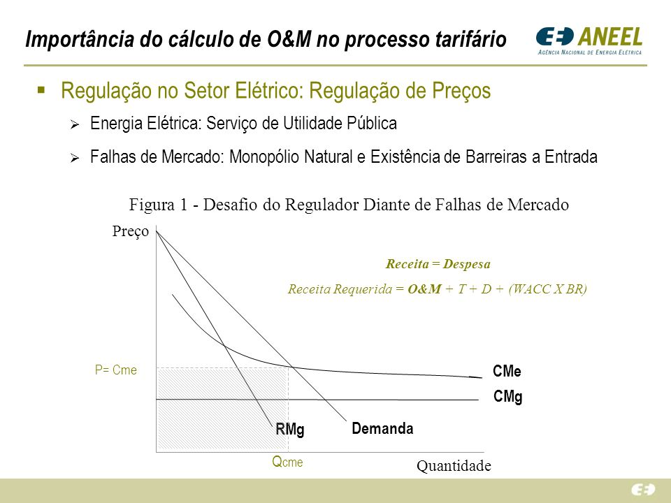 Importância do cálculo de O&M no processo tarifário