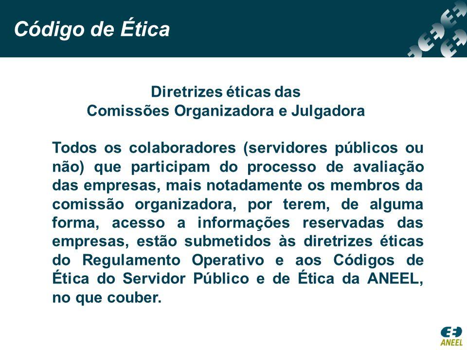 Comissões Organizadora e Julgadora