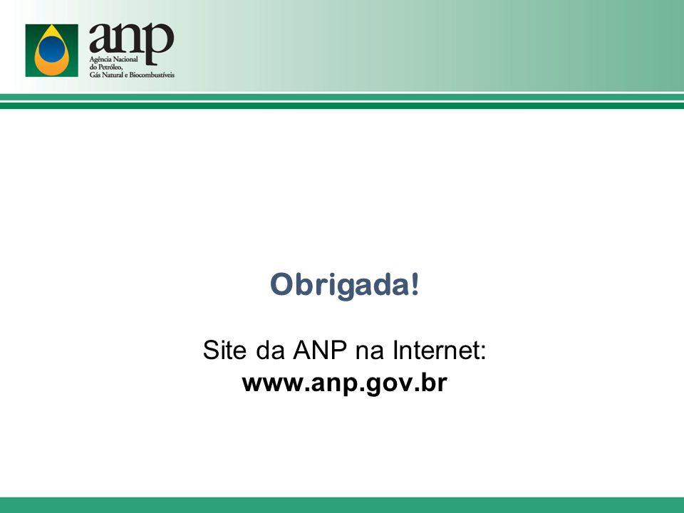 Site da ANP na Internet: