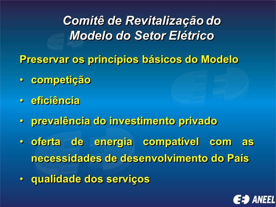 Comitê de Revitalização do Modelo do Setor Elétrico