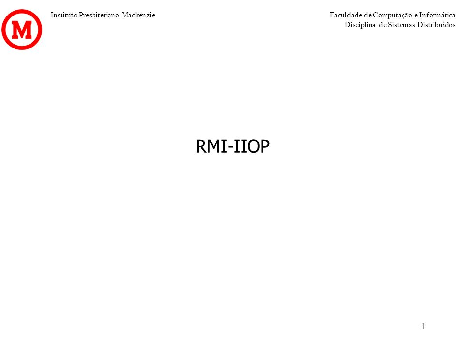 RMI-IIOP