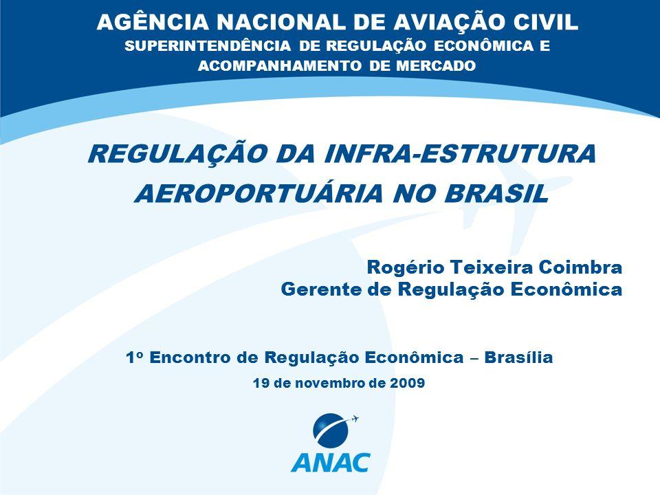 REGULAÇÃO DA INFRA-ESTRUTURA AEROPORTUÁRIA NO BRASIL