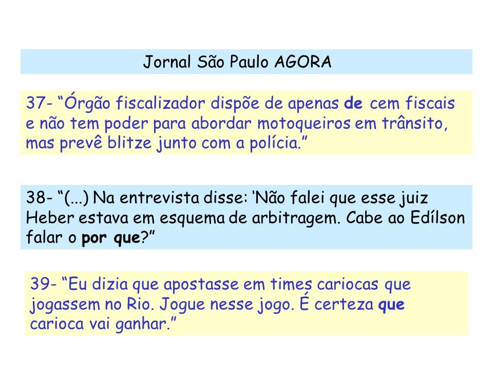 Jornal São Paulo AGORA