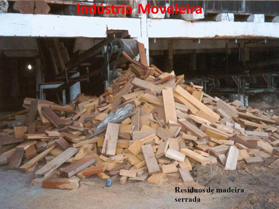 Indústria Moveleira Resíduos de madeira serrada