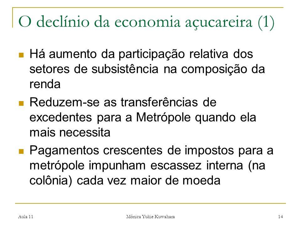 O declínio da economia açucareira (1)