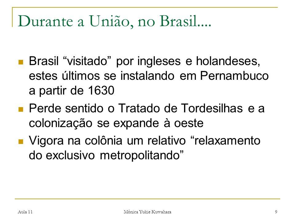 Durante a União, no Brasil....
