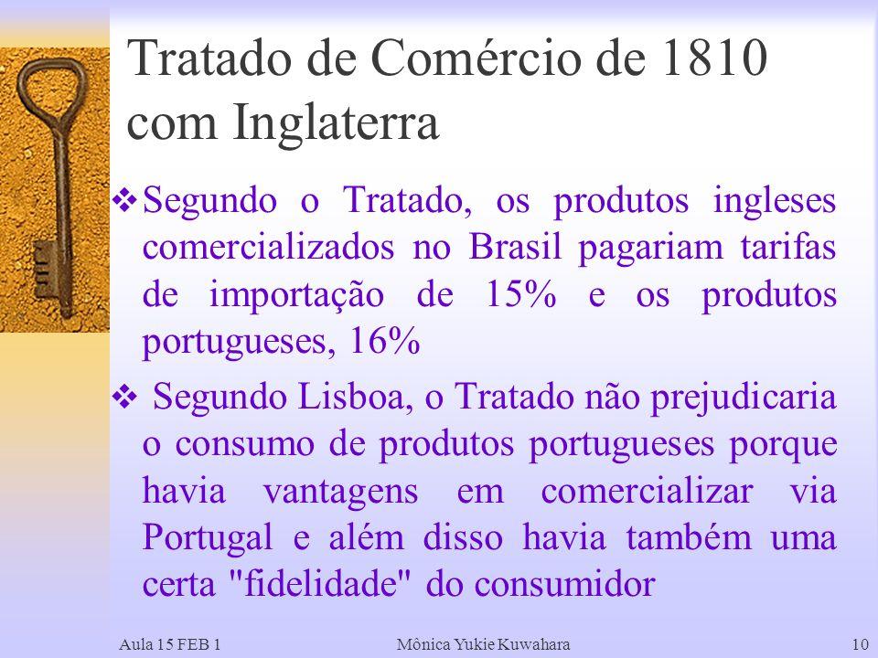 Tratado de Comércio de 1810 com Inglaterra