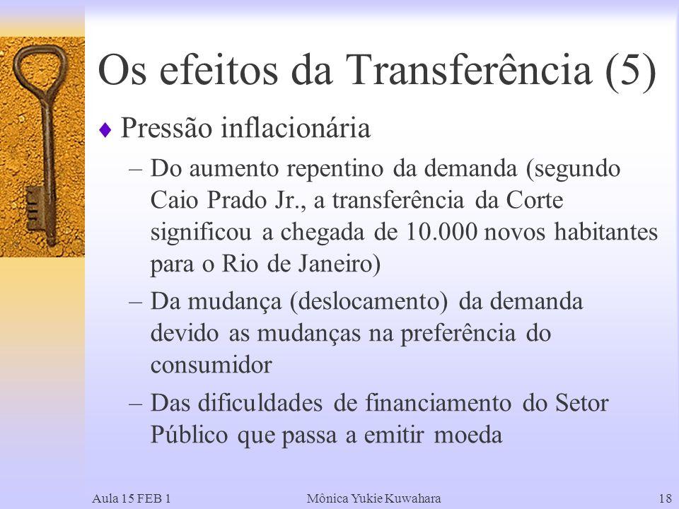 Os efeitos da Transferência (5)
