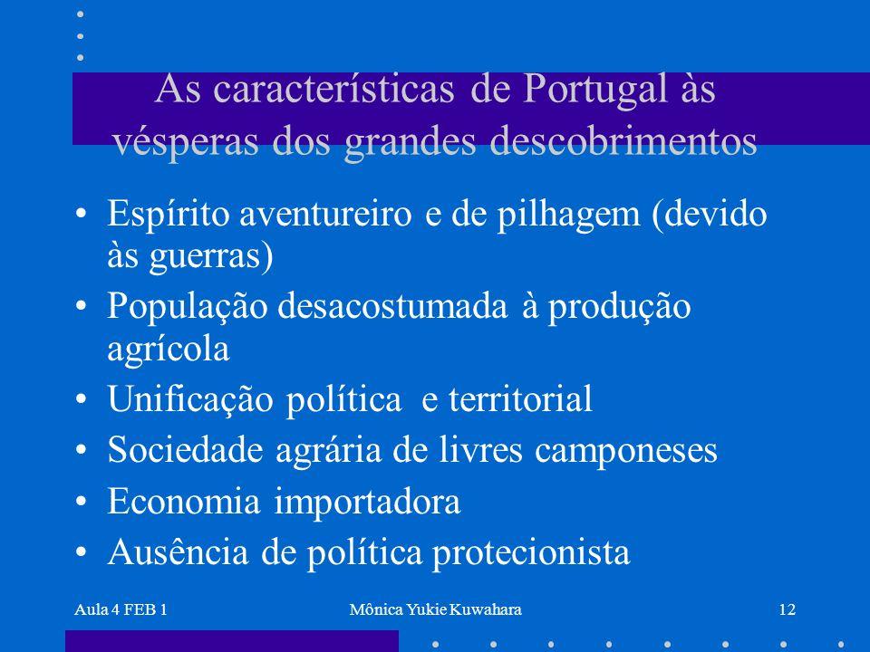 As características de Portugal às vésperas dos grandes descobrimentos
