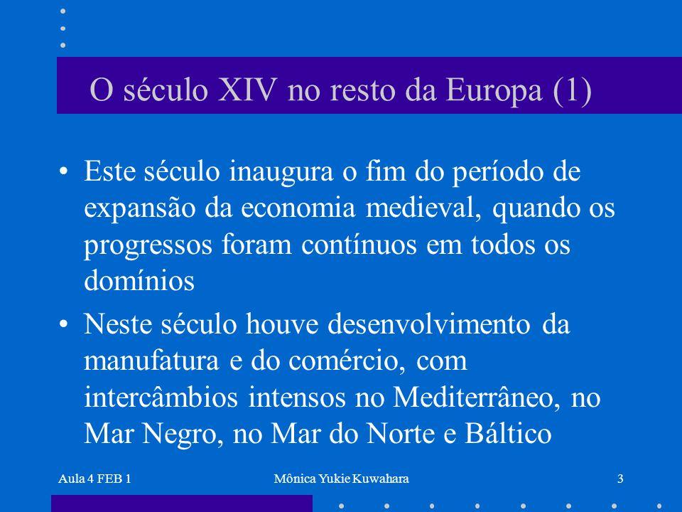 O século XIV no resto da Europa (1)