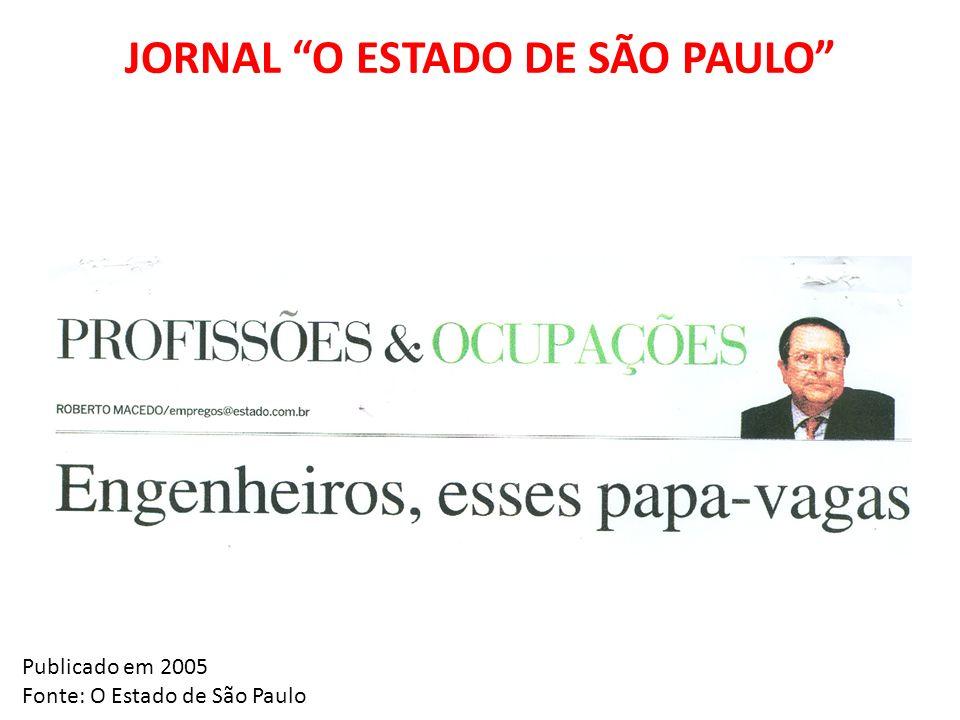 JORNAL O ESTADO DE SÃO PAULO