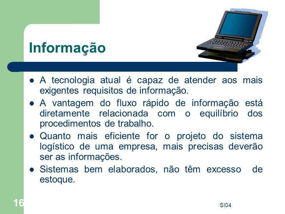 Informação A tecnologia atual é capaz de atender aos mais exigentes requisitos de informação.