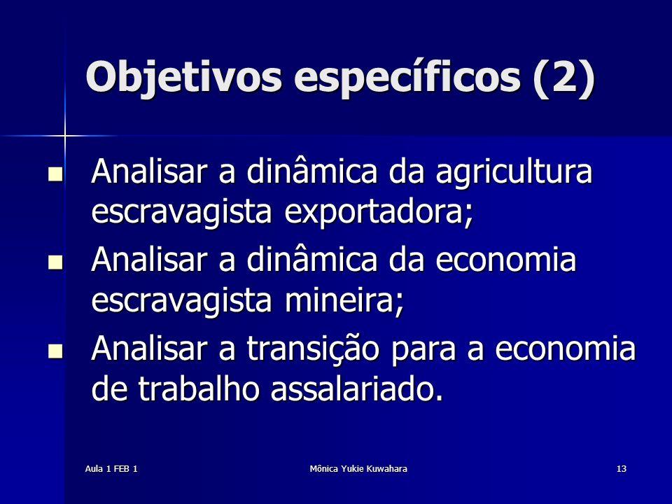 Objetivos específicos (2)