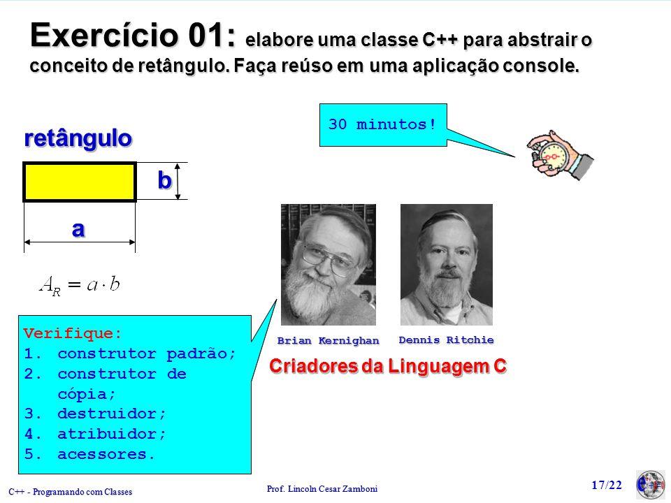 Criadores da Linguagem C