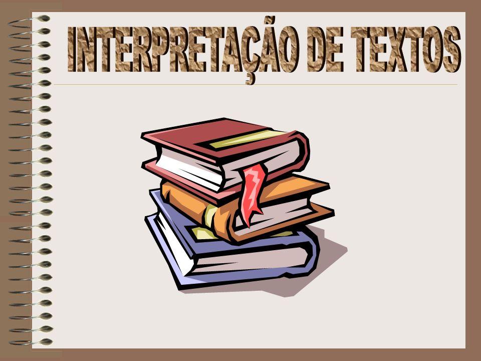 INTERPRETAÇÃO DE TEXTOS