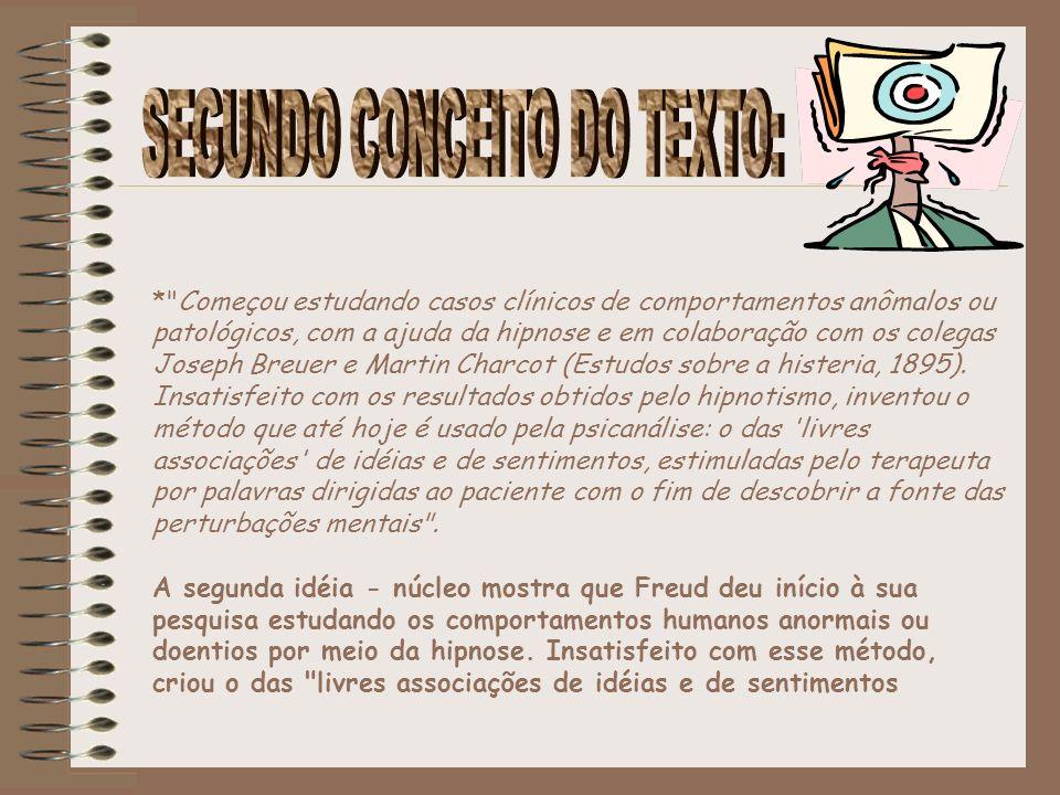 SEGUNDO CONCEITO DO TEXTO: