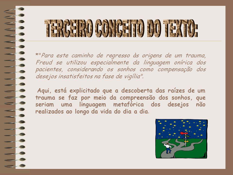 TERCEIRO CONCEITO DO TEXTO: