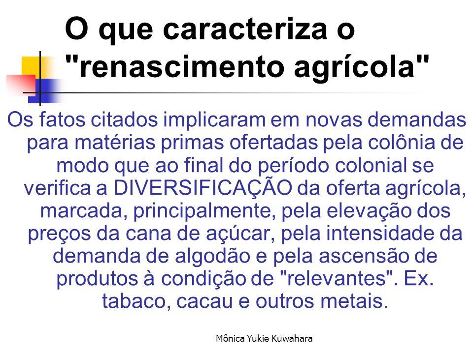 O que caracteriza o renascimento agrícola