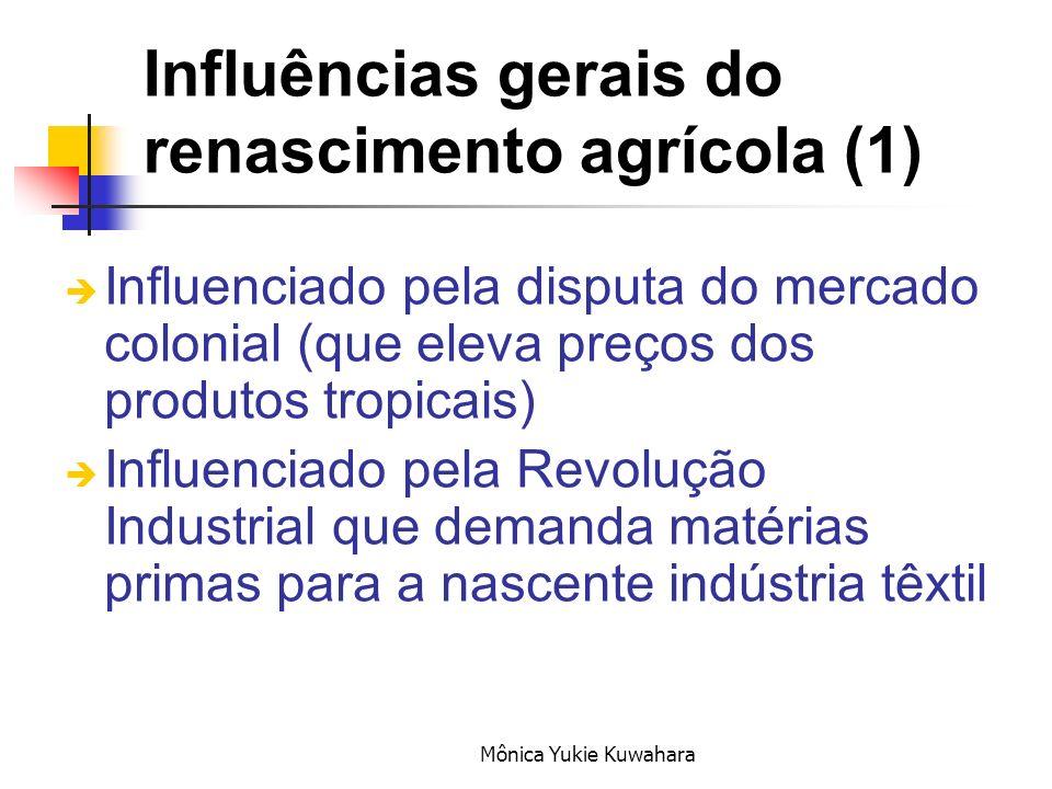 Influências gerais do renascimento agrícola (1)