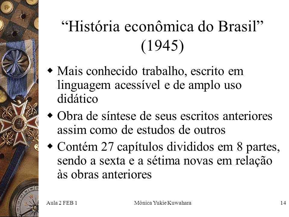 História econômica do Brasil (1945)
