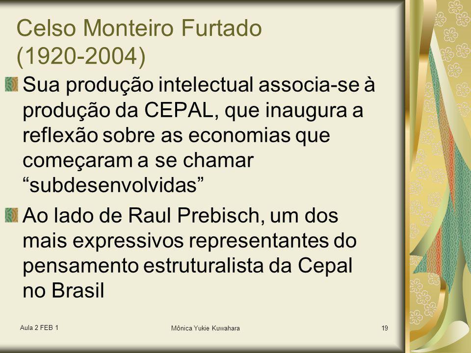 Celso Monteiro Furtado (1920-2004)
