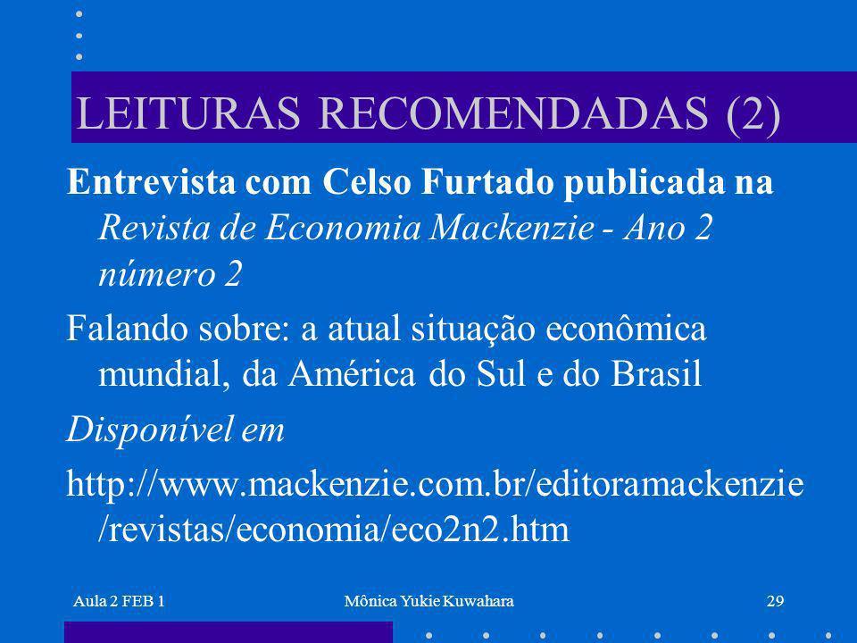 LEITURAS RECOMENDADAS (2)