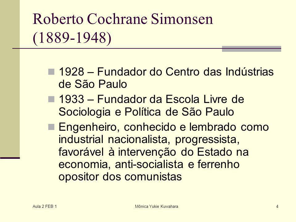 Roberto Cochrane Simonsen (1889-1948)