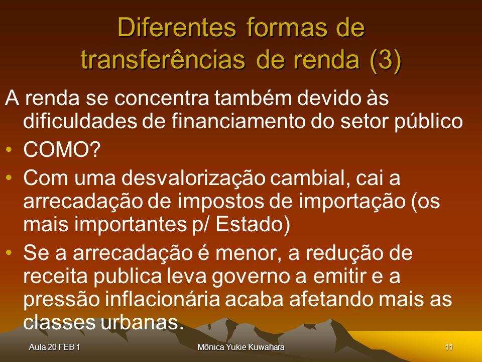 Diferentes formas de transferências de renda (3)