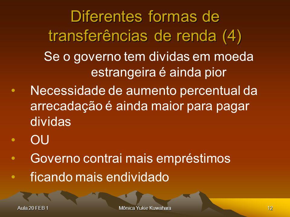 Diferentes formas de transferências de renda (4)