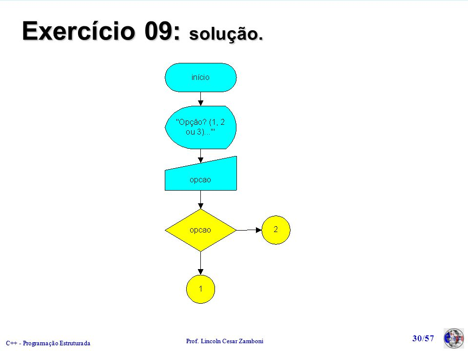 Exercício 09: solução.